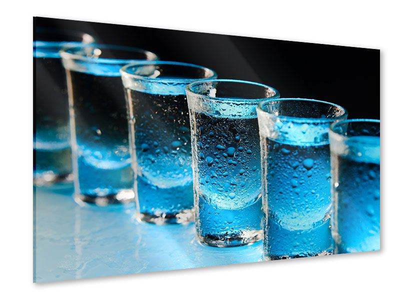 Acrylglasbild Wodka Pur