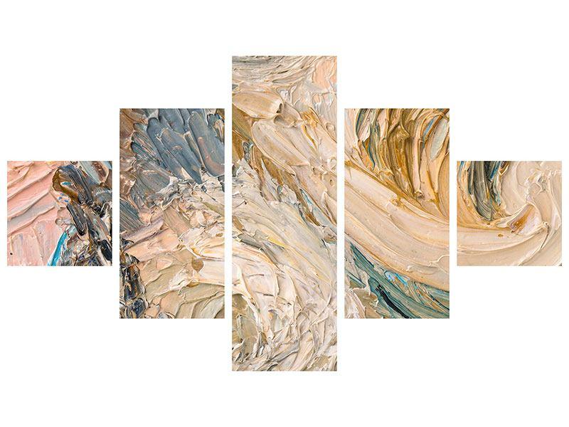 Acrylglasbild 5-teilig Ölgemälde