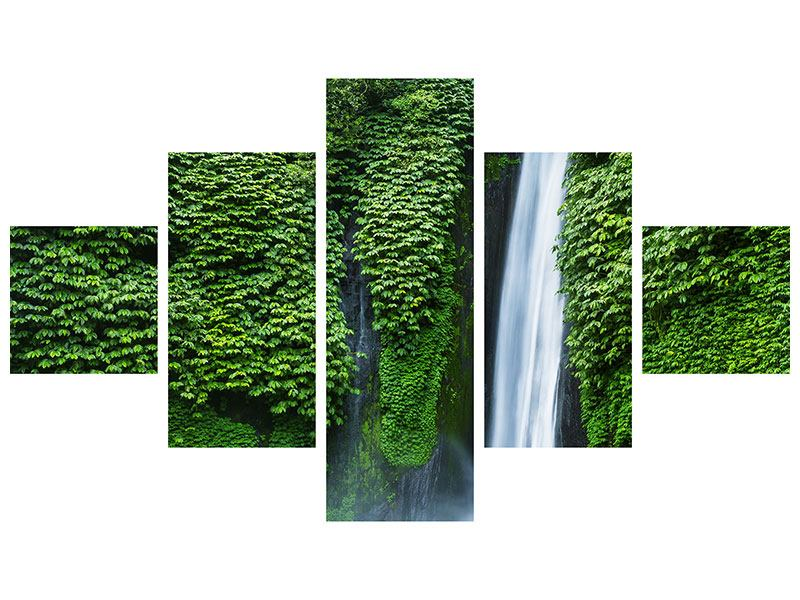 Acrylglasbild 5-teilig Lebensquelle