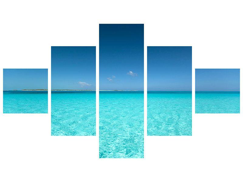 Acrylglasbild 5-teilig Das Meer und Jules Verne