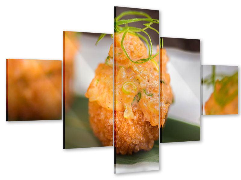 Acrylglasbild 5-teilig Asiatische Küche