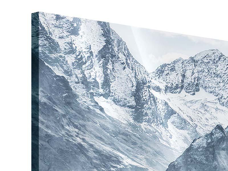 Acrylglasbild 5-teilig Gigantische Berggipfel