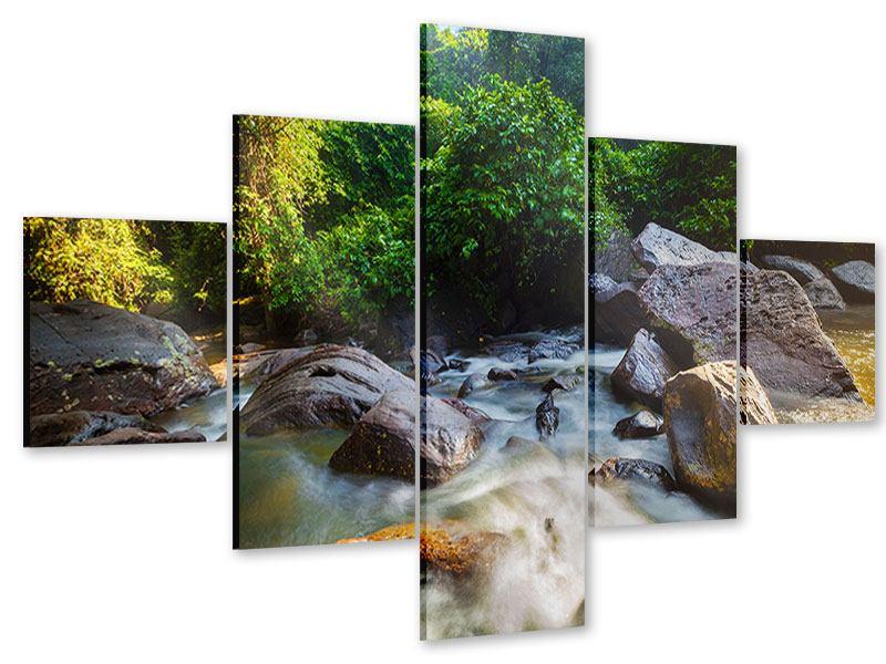 Acrylglasbild 5-teilig Das Gewässer