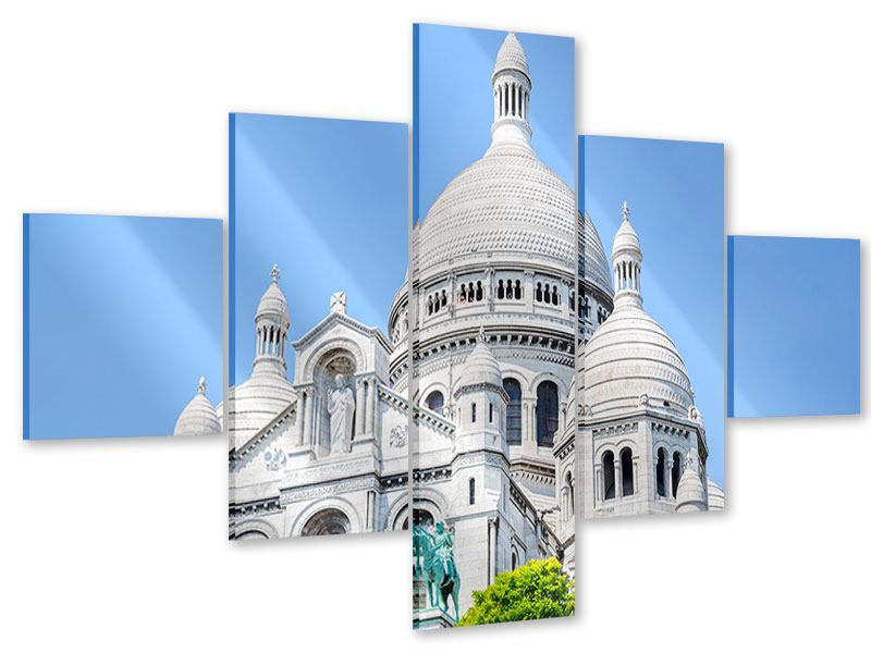 Acrylglasbild 5-teilig Paris- Montmartre