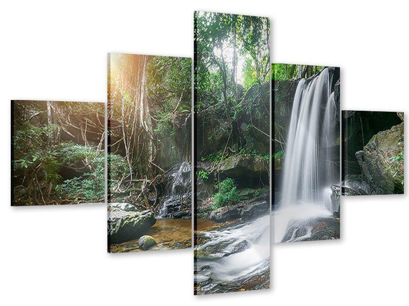 Acrylglasbild 5-teilig Naturschauspiel