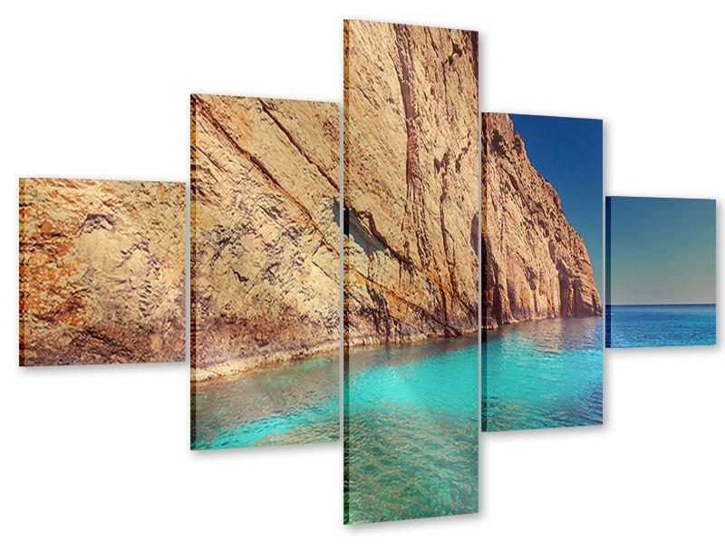Acrylglasbild 5-teilig Wasser