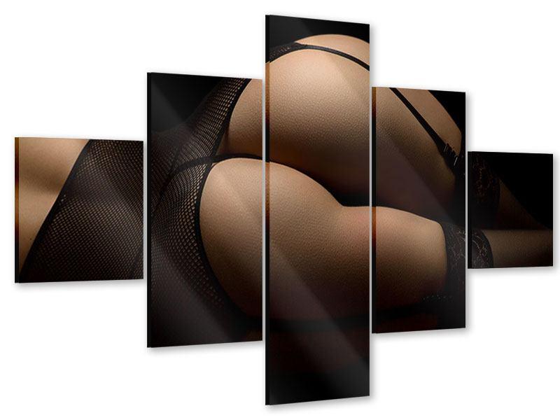 Acrylglasbild 5-teilig Strapse