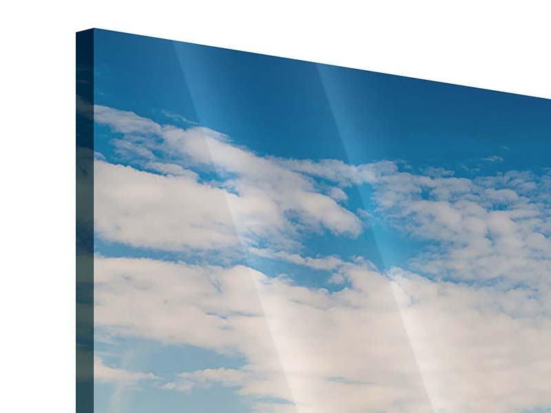 Acrylglasbild 5-teilig Skyline New York