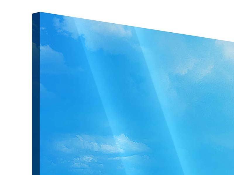 Acrylglasbild 5-teilig Sanfte Strandwellen