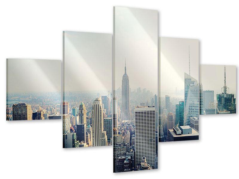 Acrylglasbild 5-teilig NYC