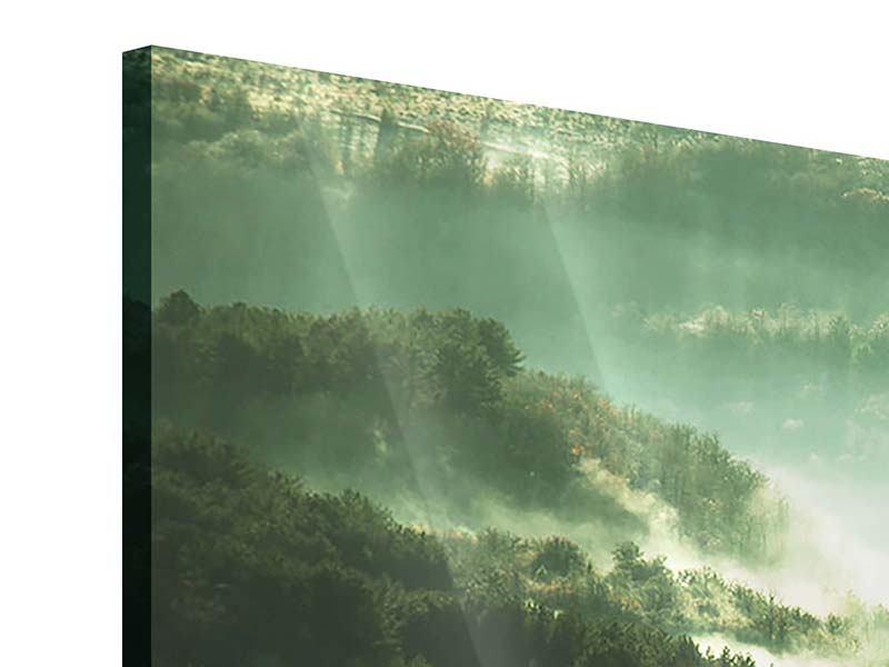 Acrylglasbild 5-teilig Über den Wäldern