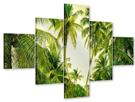 Acrylglasbild 5-teilig Reif für die Insel
