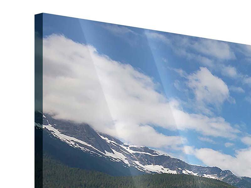 Acrylglasbild 5-teilig Diablo Bergsee
