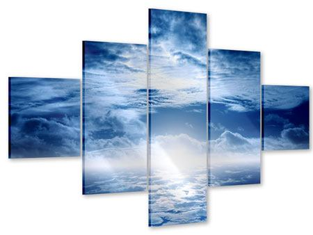 Acrylglasbild 5-teilig Mystischer Himmel
