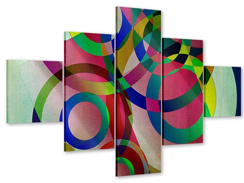 Acrylglasbild 5-teilig Wandkunst