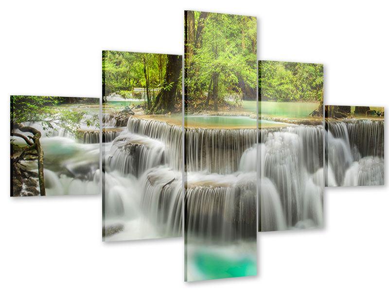 Acrylglasbild 5-teilig Erawan