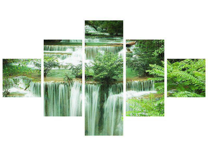 Acrylglasbild 5-teilig 7 Stufen in Thailand