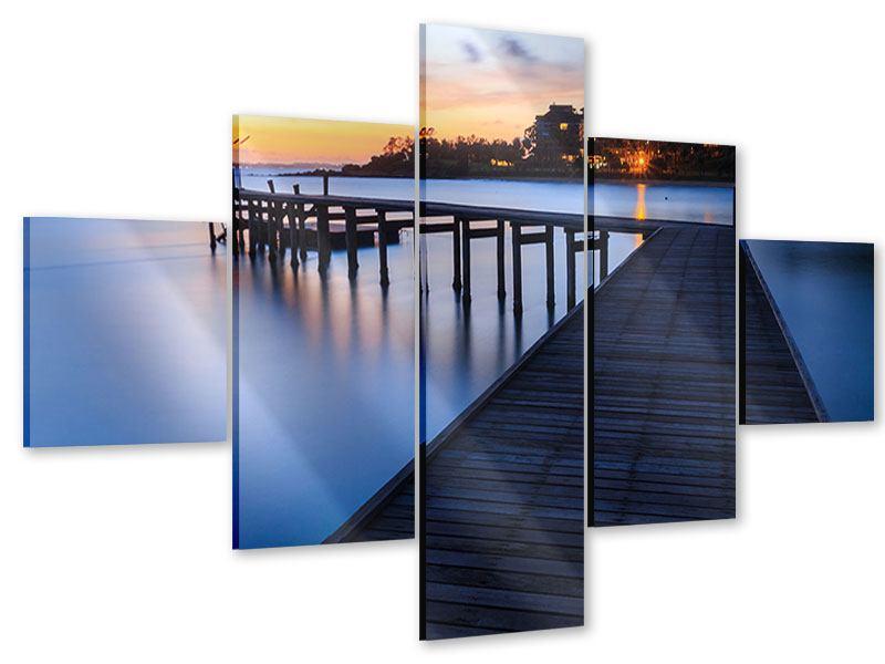 Acrylglasbild 5-teilig Inseltraum