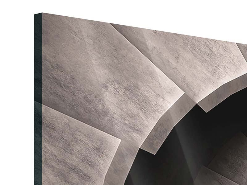 Acrylglasbild 5-teilig Steinwendeltreppe