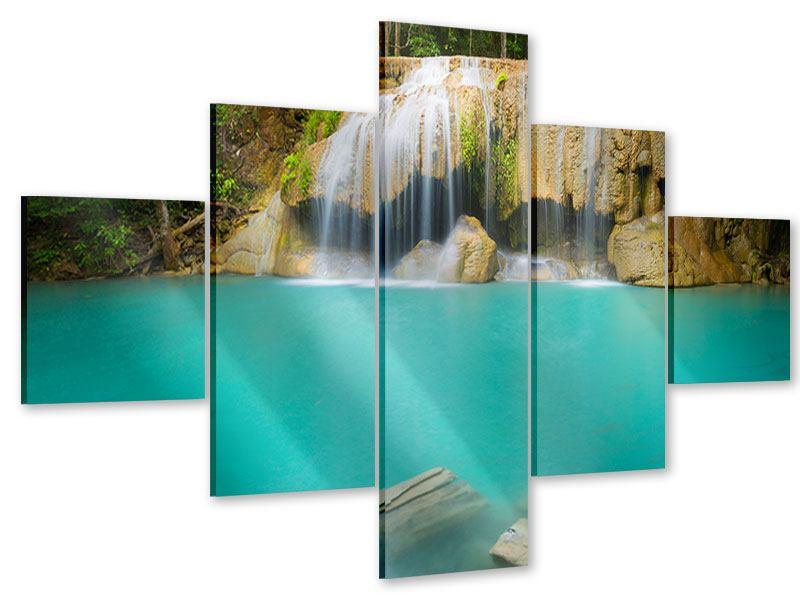 Acrylglasbild 5-teilig Frische Brise