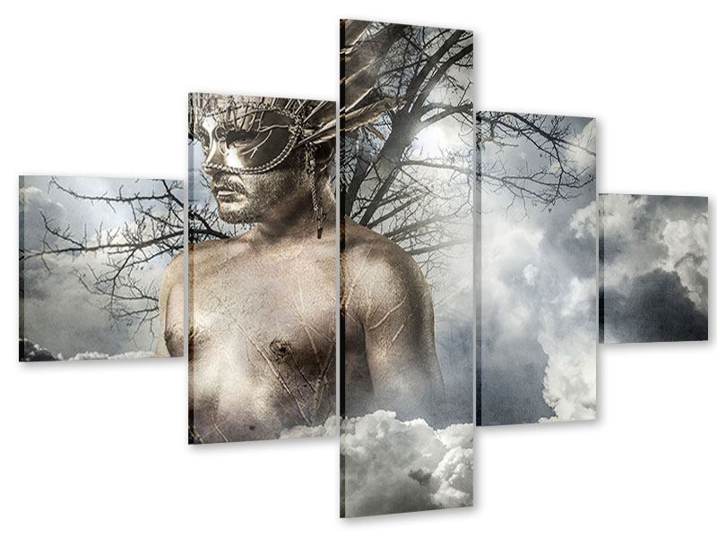 Acrylglasbild 5-teilig Gottheit