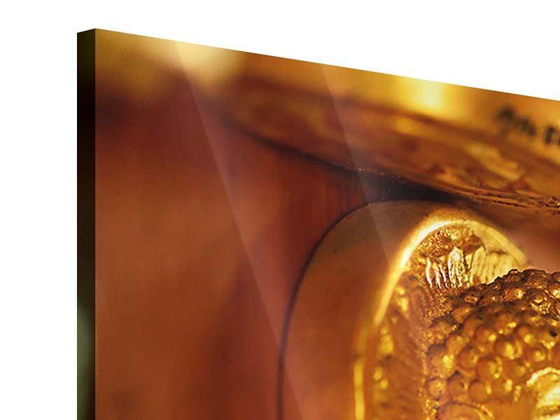 Acrylglasbild 5-teilig Buddhas