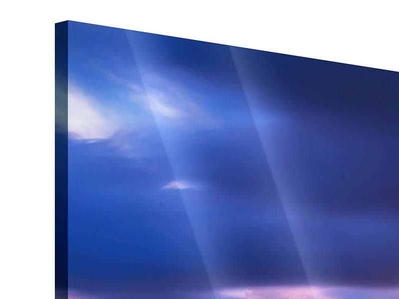 Acrylglasbild 5-teilig Meditation am Meer