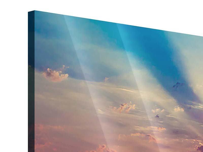 Acrylglasbild 5-teilig modern Mystischer Sonnenaufgang