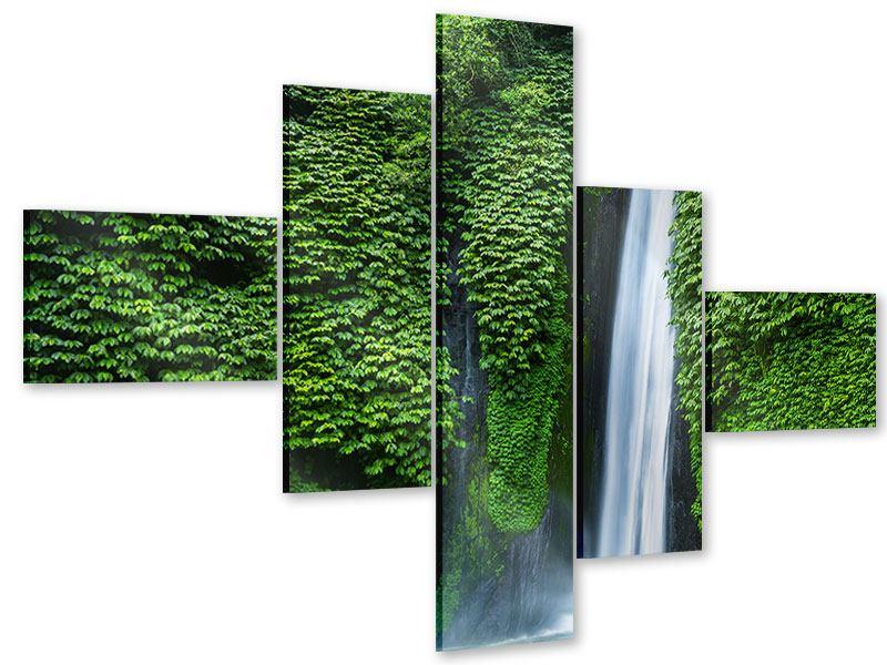 Acrylglasbild 5-teilig modern Lebensquelle