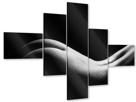 Acrylglasbild 5-teilig modern Nude