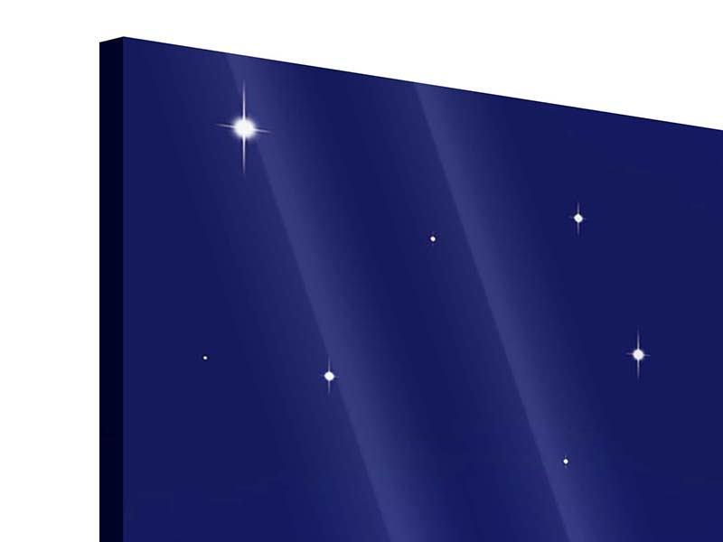 Acrylglasbild 5-teilig modern Der Nachthimmel