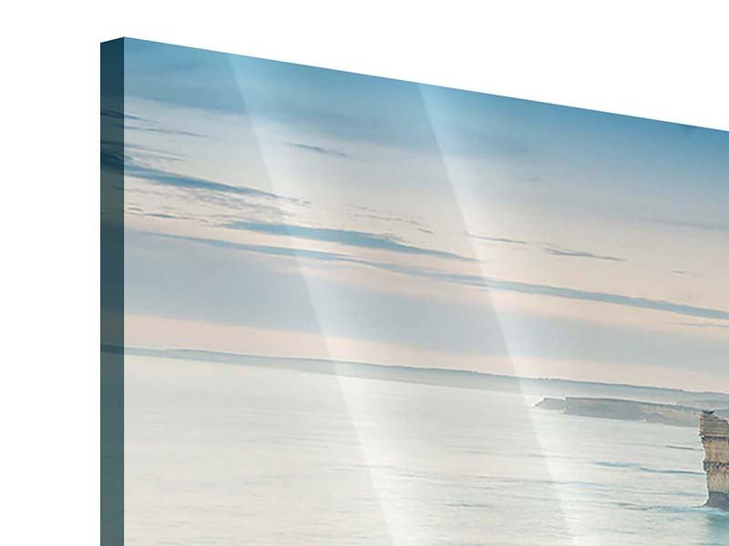Acrylglasbild 5-teilig modern Felsklippen