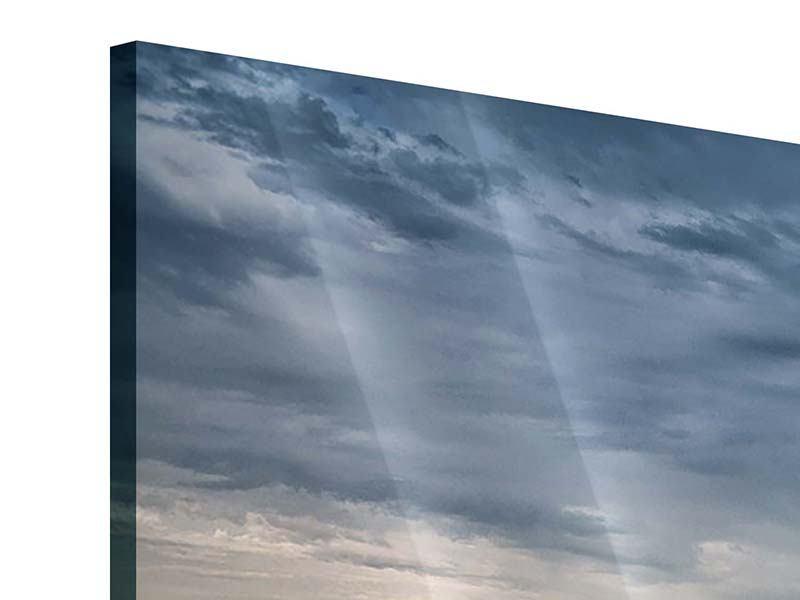 Acrylglasbild 5-teilig modern Skyline Manhattan