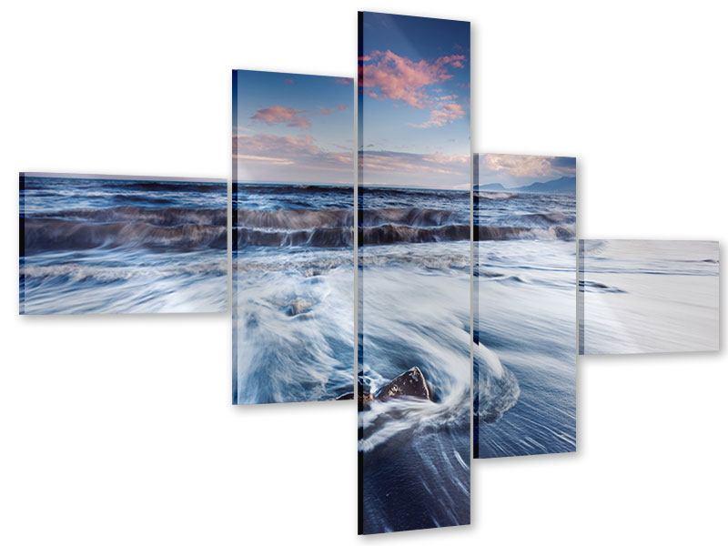 Acrylglasbild 5-teilig modern Ort der Sehnsucht