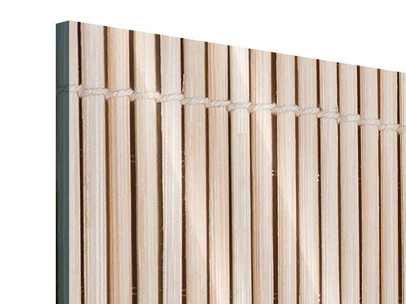 Acrylglasbild 5-teilig modern Lucky Bamboo