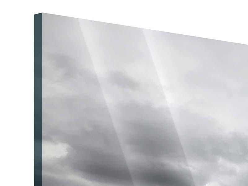 Acrylglasbild 5-teilig modern Vulkan