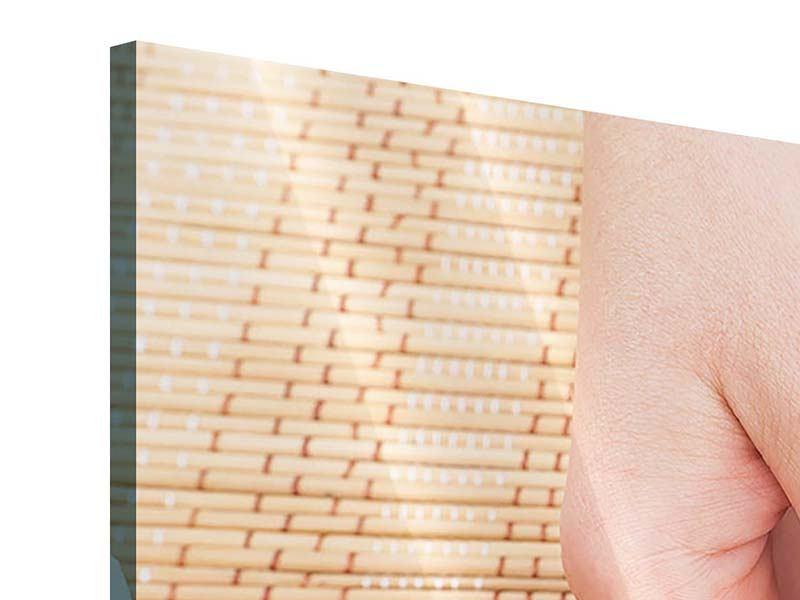 Acrylglasbild 5-teilig modern Schöne Füsse