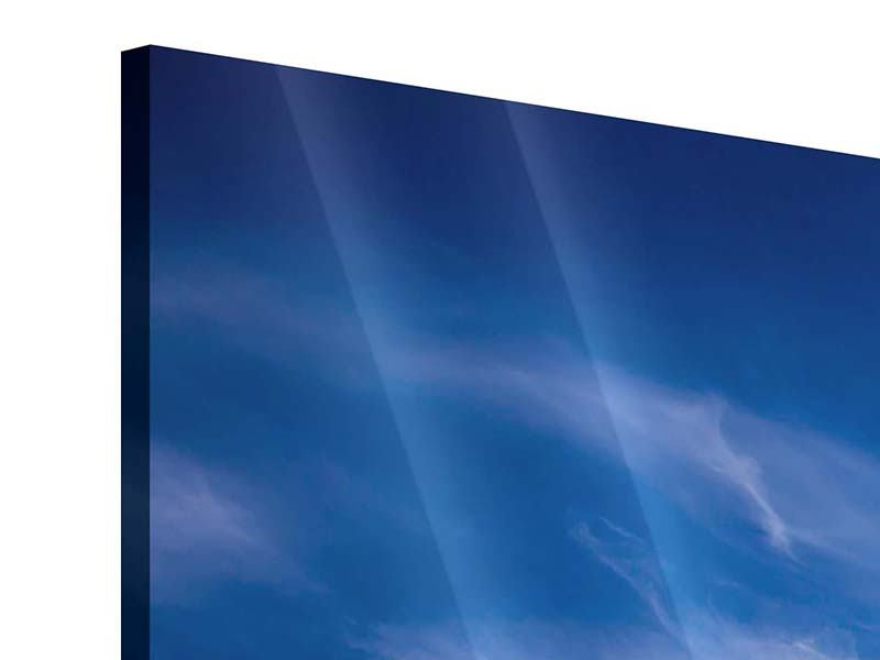 Acrylglasbild 5-teilig modern Schleierwolken
