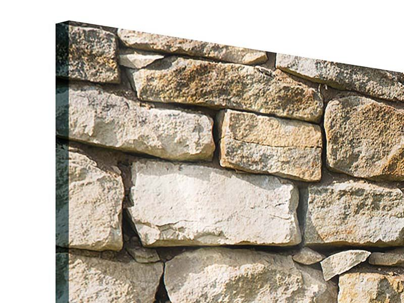 Acrylglasbild 5-teilig modern Natursteine