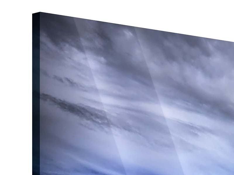 Acrylglasbild 5-teilig modern Strandwellen