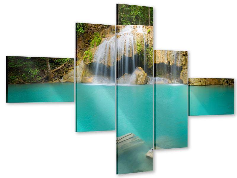 Acrylglasbild 5-teilig modern Frische Brise