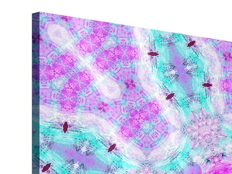 Acrylglasbild 9-teilig Lilac