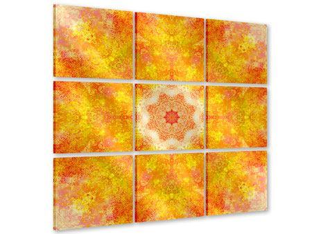 Acrylglasbild 9-teilig Star