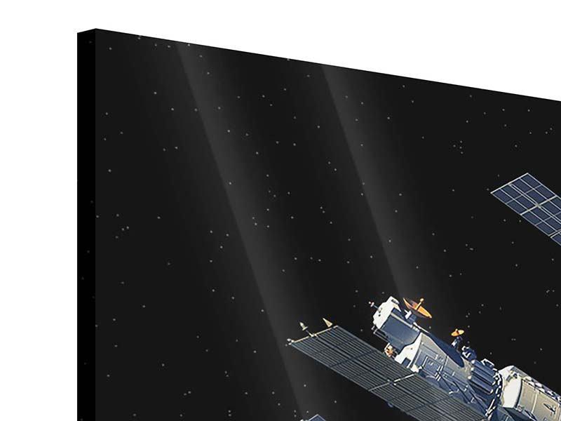Acrylglasbild 9-teilig Raumstation