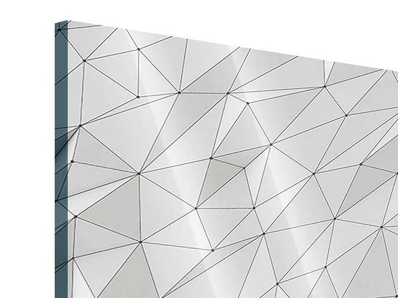 Acrylglasbild 9-teilig 3D-Geo