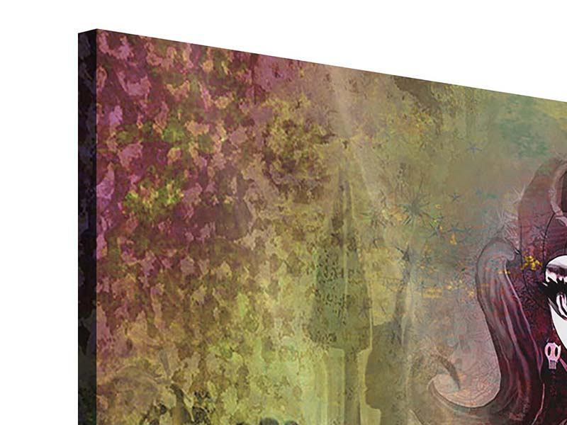 Acrylglasbild 9-teilig Kinderprinzessin