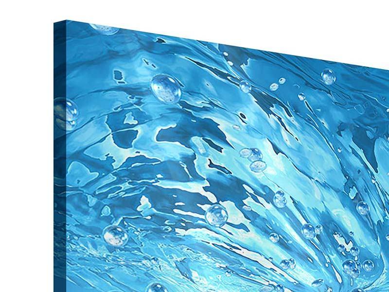Acrylglasbild 9-teilig Wasserblasen