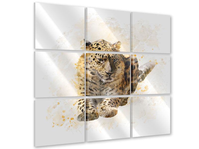 Acrylglasbild 9-teilig Luxgemälde