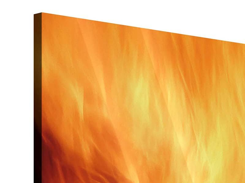 Acrylglasbild 9-teilig Flammen