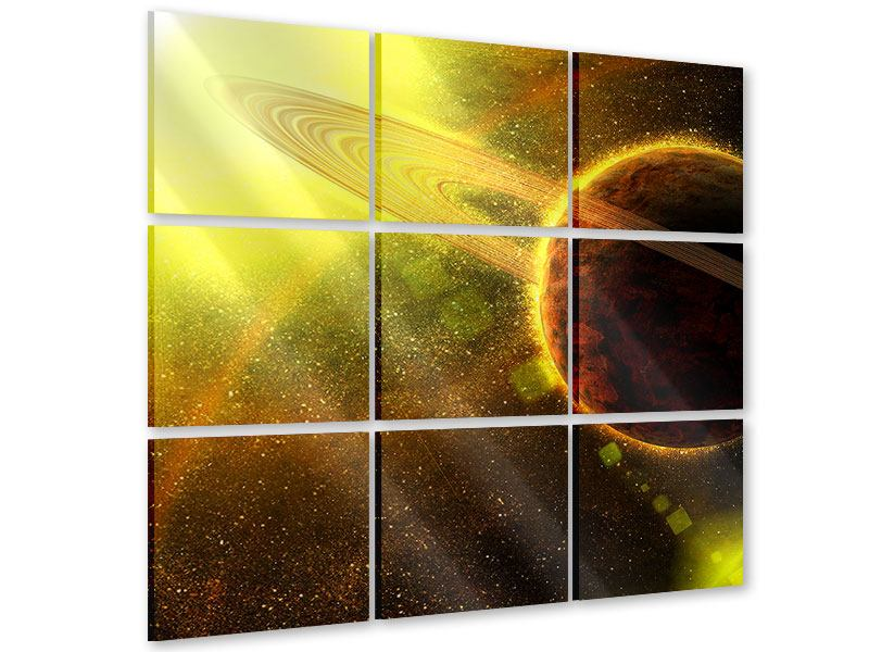 Acrylglasbild 9-teilig Sterne